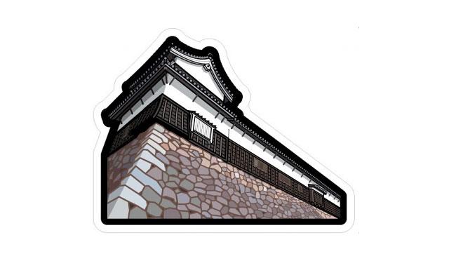 日本郵政が日本の城フォルムカードセット「福岡城」も