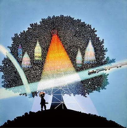 銀河鉄道の夜 天気輪の木