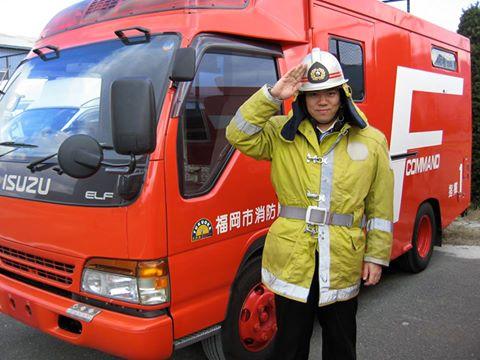 消防士 火災の裁判ビデオ編集