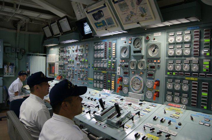 イージス艦に乗船しました。福岡取材撮影