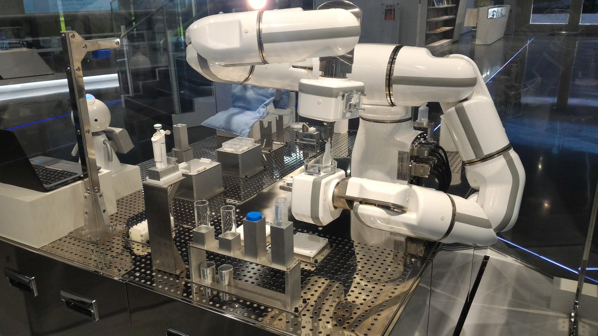 安川電機様のロボット撮影をいたしました